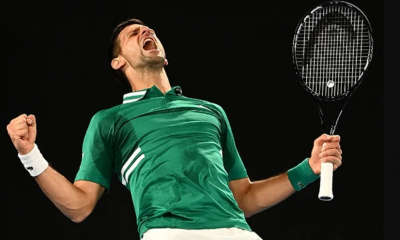 Djokovic beats Dellien to begin quest for Olympic gold