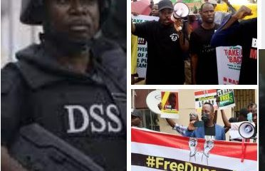 DSS releases #BuhariMustGo activists arrested at Dunamis Church,