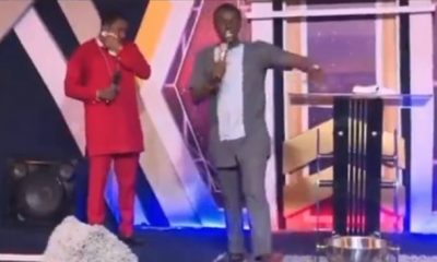 VIDEO: If you don't bribe my Angels with money, you won't succeed – Pastor tells members