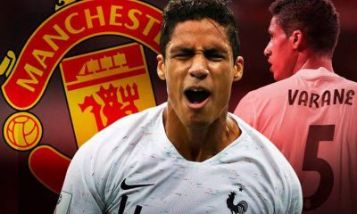 Man United reach agreement with Real Madrid for Raphael Varane