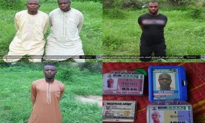 Boko Haram/ISWAP release photos of abducted soldiers