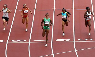 Blessing Okagbare wins Heat 6 in Tokyo Olympics