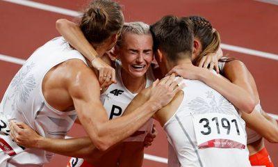 Poland win Olympic relay