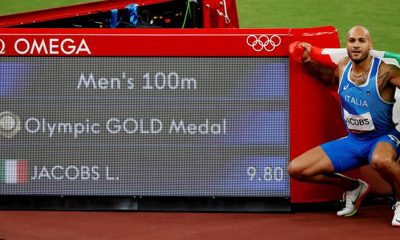Marcell Jacobs breaks Usain Bolt's record