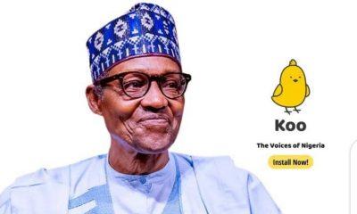 Civil body kicks as Buhari becomes face of Indian app 'Koo'