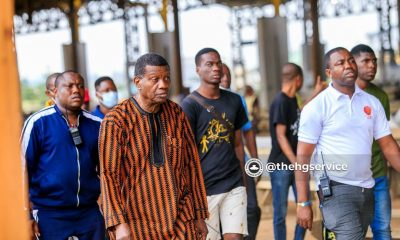 Adeboye, prayer walk, RCCG