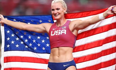 Katie Nageotte wings pole vault gold at Olympics